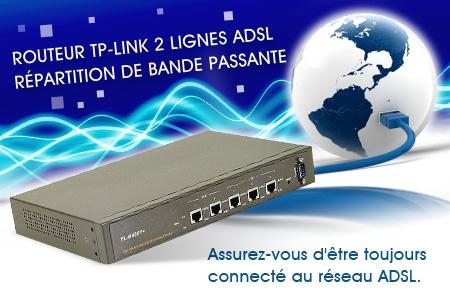routeur 2 lignes adsl
