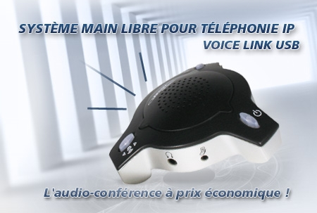 Voice link USB, audio conference, skype