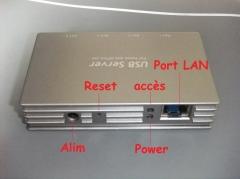 hub usb, réseau