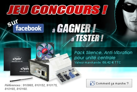 concours, facebook