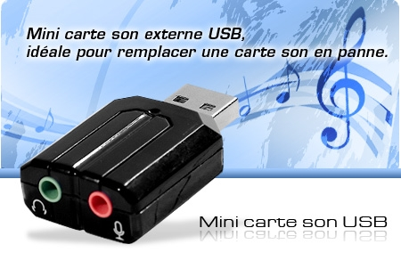 mini carte son externe usb id ale pour remplacer une carte son en panne blog abix. Black Bedroom Furniture Sets. Home Design Ideas